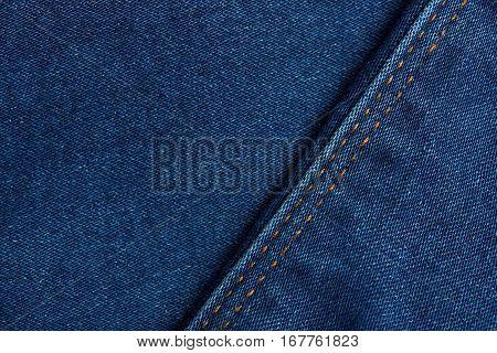 Dark Blue Grunge Textile