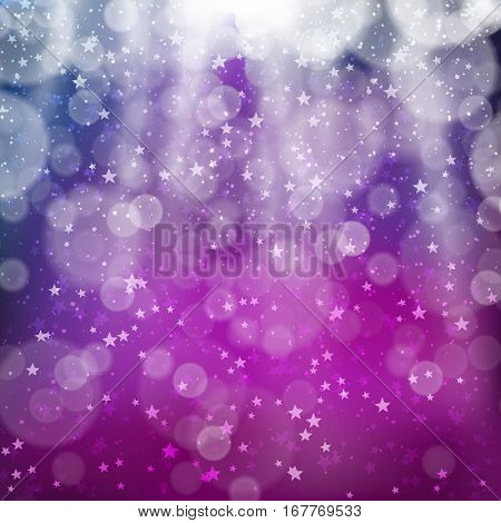 Vector abstract neon background. Violet pink background. Retro vector background. Disco background
