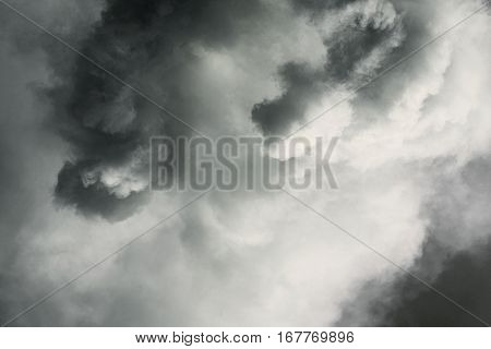 abstract smoke storm sky background