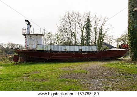 Derelict Car Ferry The Severn Princess