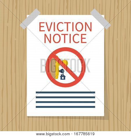 Eviction Notice, Vector