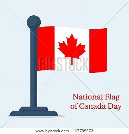 National Flag Of Canada Day