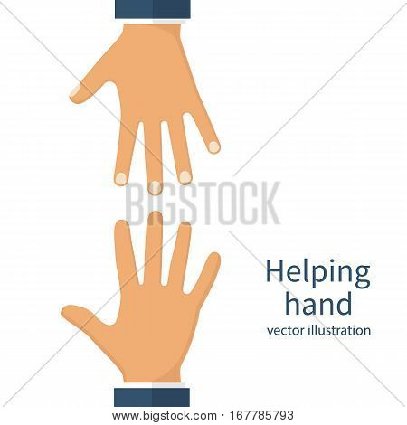 Helping Hands Concept