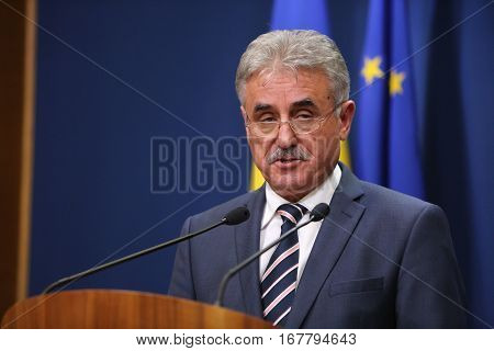 Romanian Minister Of Public Finance, Viorel Stefan