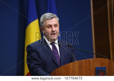 Romanian Minister Of Justice, Florin Iordache