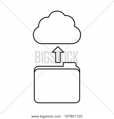 figure database storage icon image design, vetor illustration