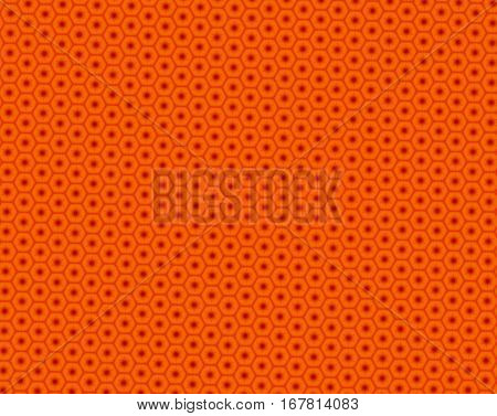 Abstract Honeycomb Pattern