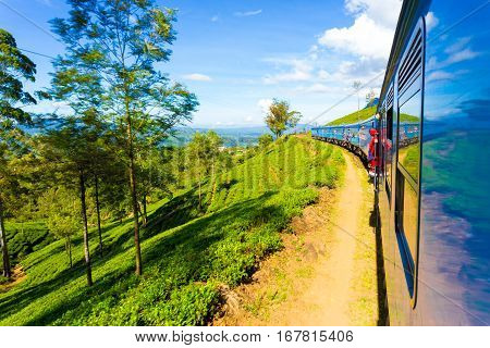 Sri Lanka Tea Plantation Hill Country Train Ride H