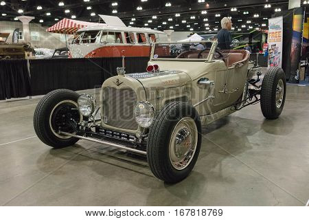 Classic Vintage Car V8 Convertible