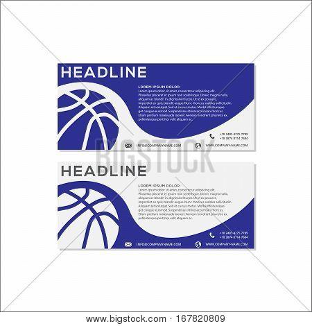 Modern Basketball Banner Or Website Header, This design is suitable for a banner or header website