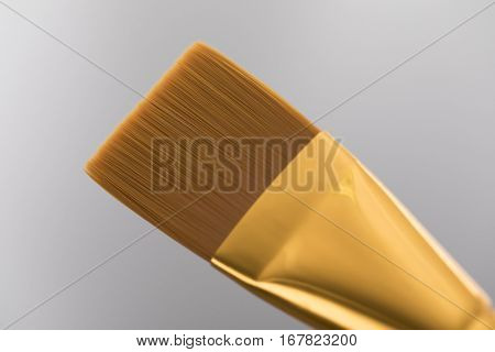 Pastry brush, isolated on gray background