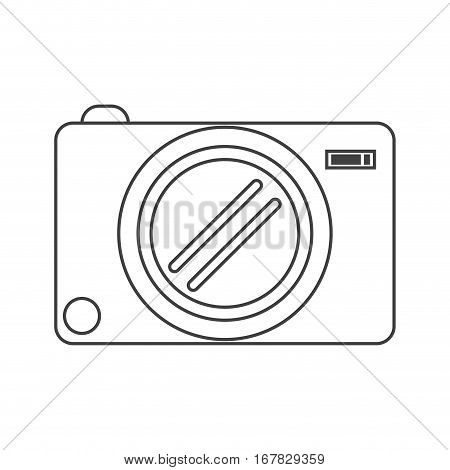 photo camera picture image thin line vector illustration eps 10