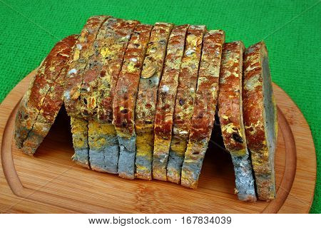 Mold Black Bread