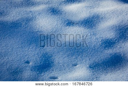abstrac natural background with snow surface