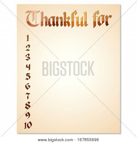 Greetings Card For Thanksgiving