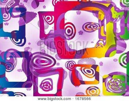 Rainbow Op-Art
