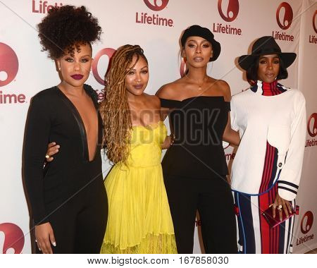 LOS ANGELES - JAN 23:  Kellee Stewert, Meagan Good, Keri Hilson, Kelly Rowland at the
