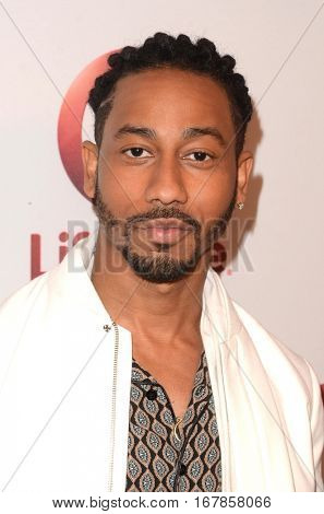 LOS ANGELES - JAN 23:  Brandon T. Jackson at the