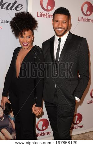 LOS ANGELES - JAN 23:  Kellee Stewert, Jeffrey Bowyer-Chapman at the