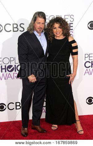 LOS ANGELES - JAN 18:  Guest, Diana Maria Riva at the People's Choice Awards 2017 at Microsoft Theater on January 18, 2017 in Los Angeles, CA