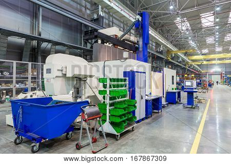 the interior metal manufacturing CNC machines vertical machining center