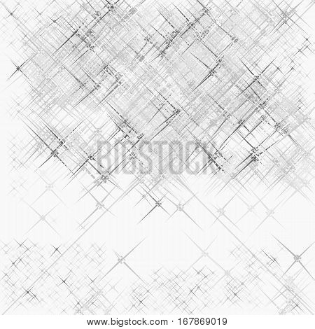 White grunge background with shading. Hand-drawn illustration. Vector.