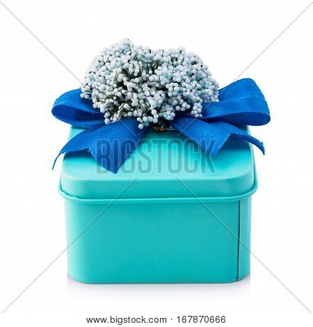 Light Blue Gift Box