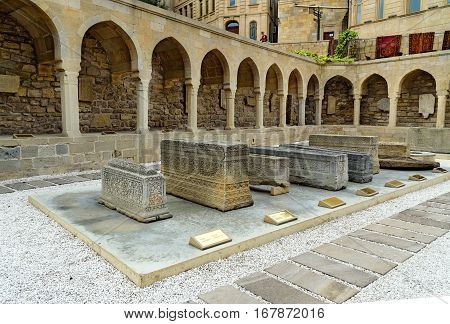 Arcades And Religious Burial Place In Old City, Icheri Sheher. Baku
