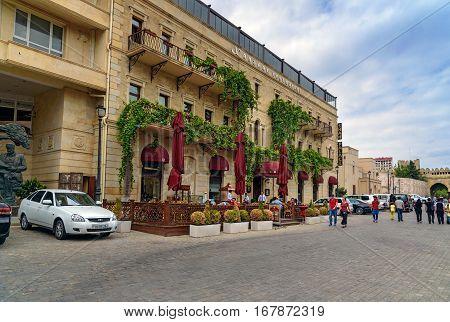 Restaurant In Old City, Icheri Sheher. Baku