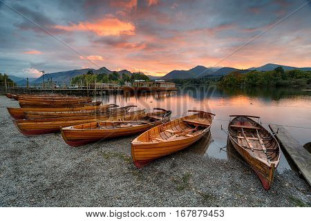 Sunset At Keswick