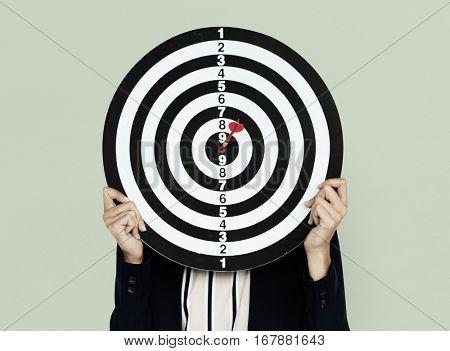 Dartsboard Bullseye Business Wear