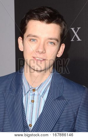 LOS ANGELES - JAN 17:  Asa Butterfield at the