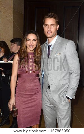LOS ANGELES - JAN 19:  Justin Hartley, Chrishell Stause at the 2017 Artios Awards at Beverly Hilton Hotel on January 19, 2017 in Beverly Hills, CA