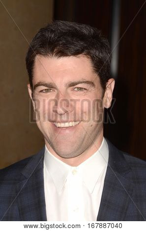 LOS ANGELES - JAN 19:  Max Greenfield at the 2017 Artios Awards at Beverly Hilton Hotel on January 19, 2017 in Beverly Hills, CA