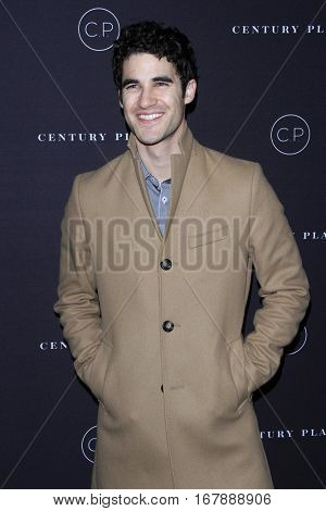 LOS ANGELES - JAN 19:  Darren Criss at the Unveiling of the Remodeled Century Plaza at Century Plaza Hotel on January 19, 2017 in Century City, CA