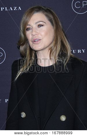LOS ANGELES - JAN 19:  Ellen Pompeo at the Unveiling of the Remodeled Century Plaza at Century Plaza Hotel on January 19, 2017 in Century City, CA