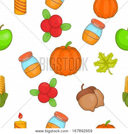 Public holiday of USA pattern. Cartoon illustration of public holiday of USA vector pattern for web