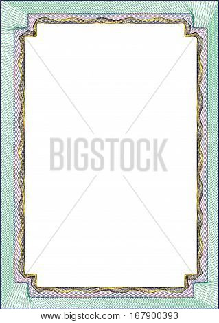 Certificates Frame blank template for a certificate or diploma