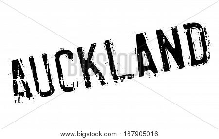 Auckland stamp. Grunge design with dust scratches. Effects can be easily removed for a clean, crisp look. Color is easily changed.