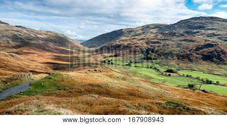 Lake District Mountain Pass