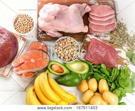 Natural Products Rich In Vitamin B6.
