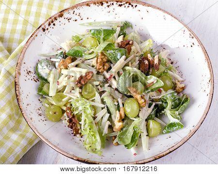 Fresh Waldorf Salad
