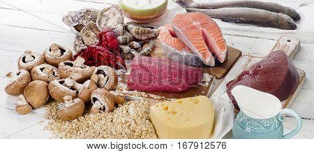 Foods Of Vitamin B12 (cobalamin)