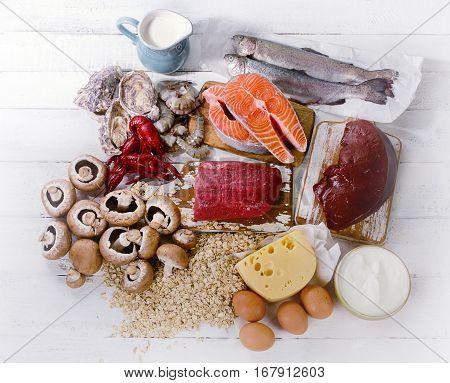 Foods Of Vitamin B12