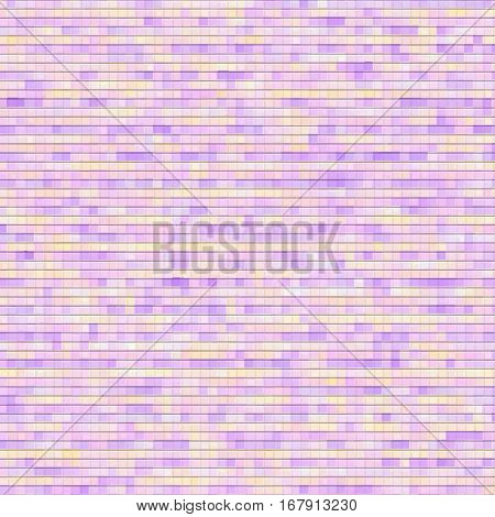Lilac pink pattern in small cells. Vector seamless pattern