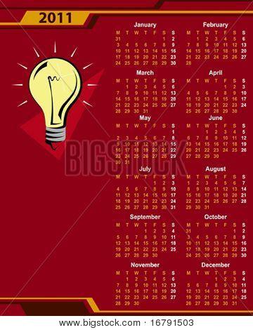 Concept Calendar 2011