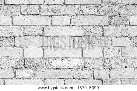 White Brick Wall, Seamless Texture