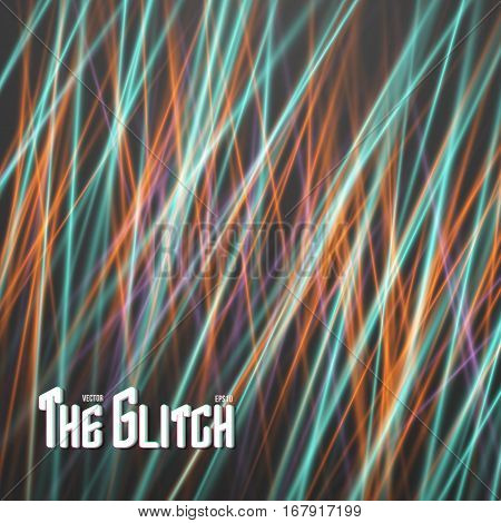 Illustration of Disco Party Vector Laser. Abstract Laser Effect. Futuristic Laser Light Painting Background
