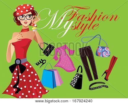 my fashion style, fashionable girl