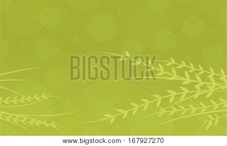 Vector art of spring green backgrounds collection stock